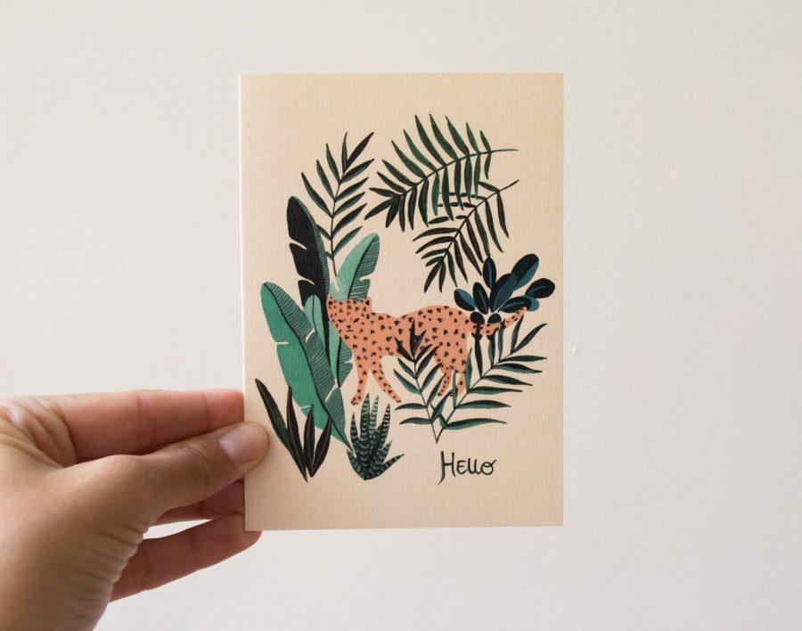 Carte - Hello - Season Paper -Maison Mathûvû