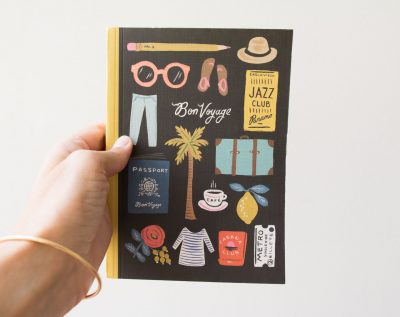 Carnet de voyage - Rifle Paper Co - Maison Mathûvû