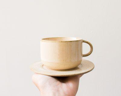 Tasse crème Bloomingville - Maison Mathuvu
