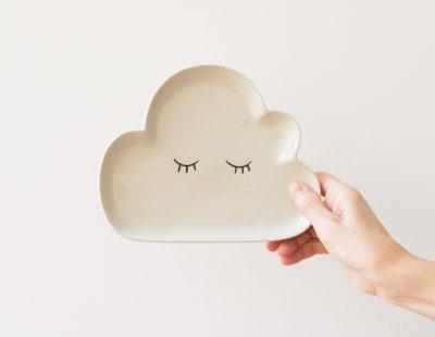 Assiette nuage - Bloomingville -Maison Mathûvû