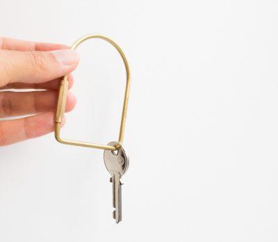 Porte clé graphic Monograph - Maison Mathuvu