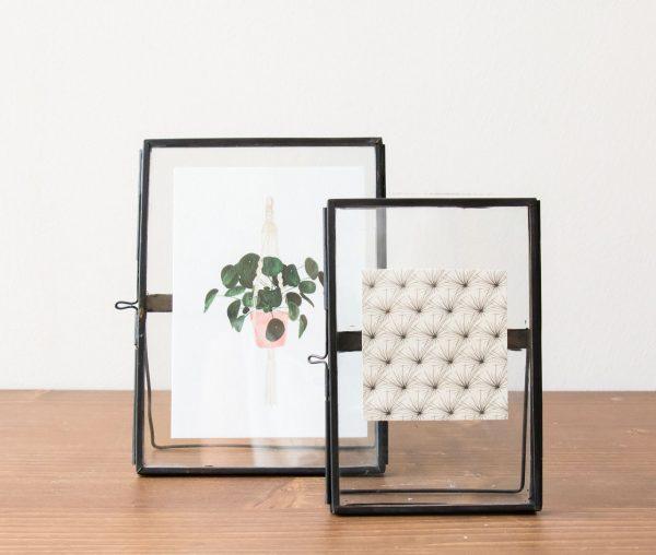 Cadre photo -Noir - Hubsch- Maison Mathûvû