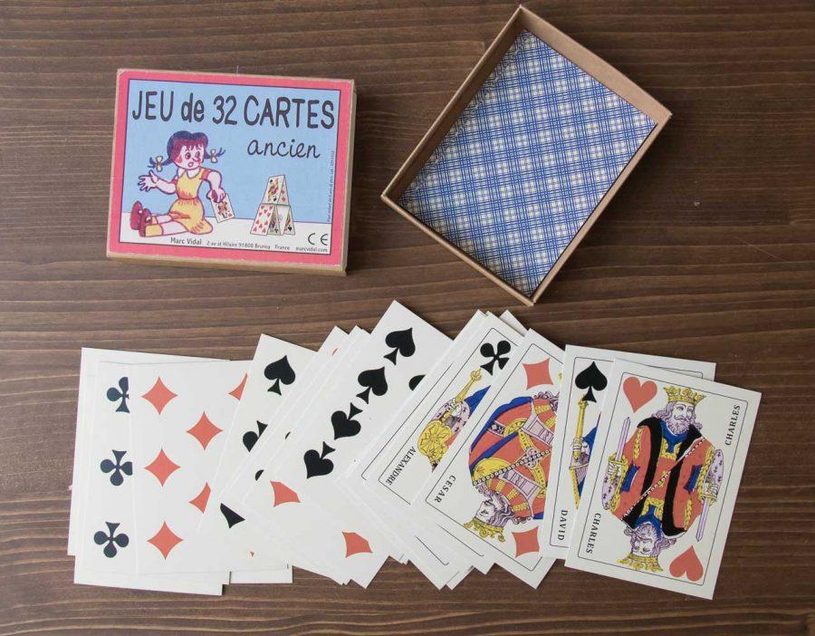 Jeu de 32 cartes - Marc Vidal -Maison Mathûvû