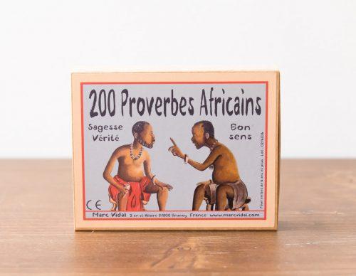 Les proverbes africains- Marc Vidal -Maison Mathûvû