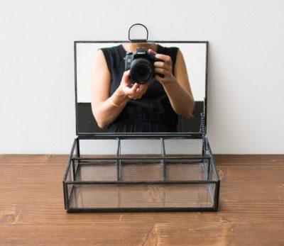 Boîte à bijoux - Miroir noir Chehoma Maison Mathûvû