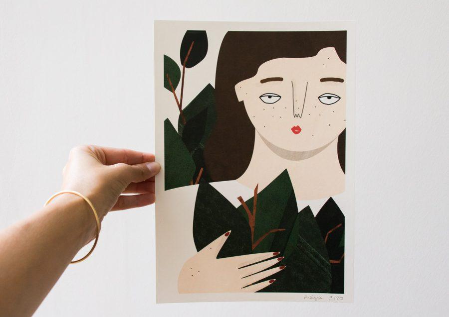 Affiche Aloÿse Mendoza - Maison Mathûvû