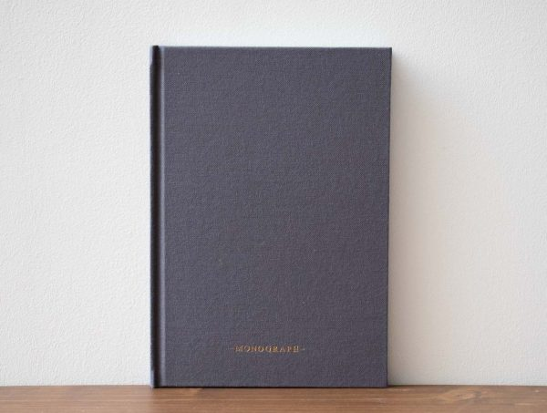 Carnet bleu Monograph - Maison Mathuvu
