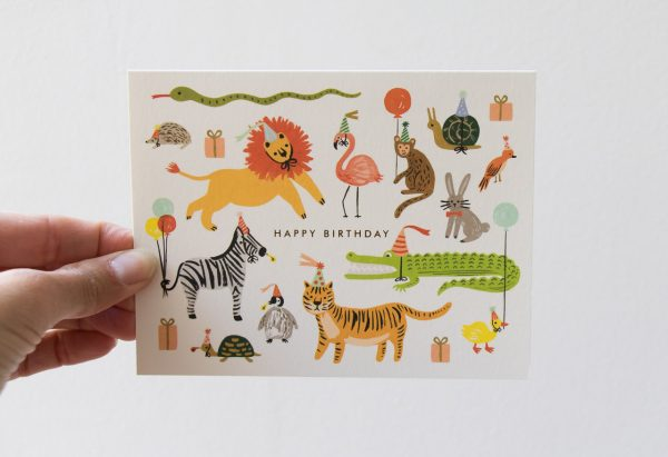 Carte animaux rifle paper co - Maison Mathuvu
