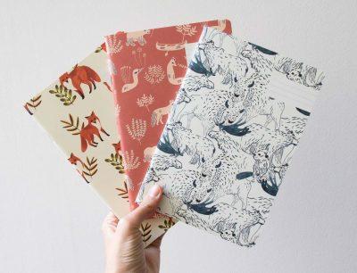 carnet Inuit, Wild et Foxes Season Paper - Maison Mathûvû