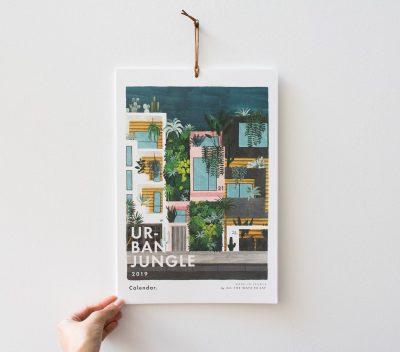 Calendrier 2019 urban jungle All The Ways to Say - Maison Mathuvu