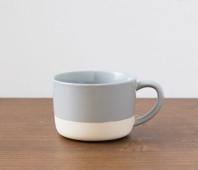 Tasse bi-colore gris Bloomingville - Maison Mathuvu