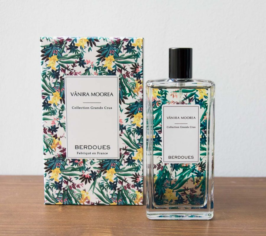 Parfum berdoues vânira Moorea - Maison Mathuvu