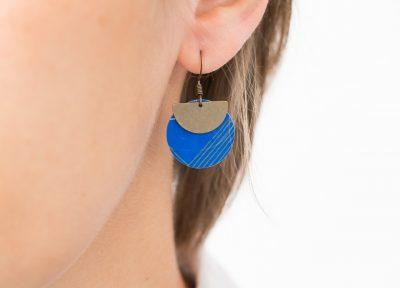 Boucles d'oreilles lili cercle Maison Mathuvu