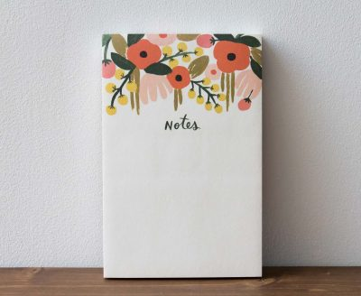 Bloc-notes garden rifle paper co - maison mathuvu