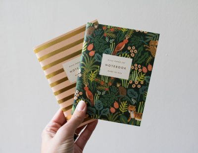 Carnet rayé et jungle Rifle paper co - Maison Mathuvu