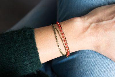 Bracelet - Perles et chaînes Jisalée - Maison Mathuvu