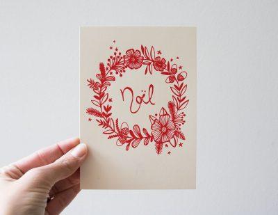 Carte - Noël Rugiada Petrelli - Maison Mathuvu
