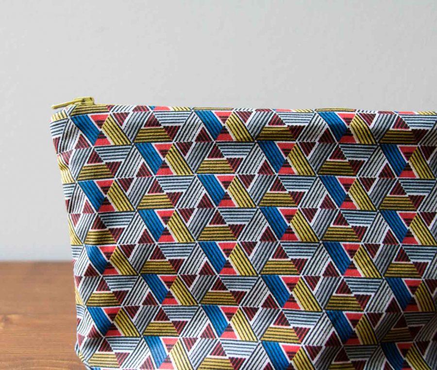 pochette triangle Maison Mathuvu