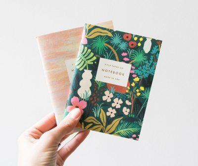 Carnet - Fleur et pastel Rifle Paper Co Maison Mathûvû