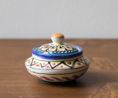 Boîte marocaine - Assise chinée par Maison Mathûvû