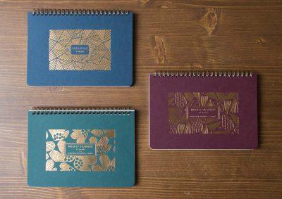 Semainier - Weekly planner Les éditions du paon - Maison Mathuvu