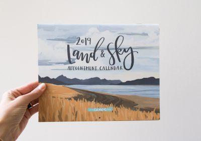 Calendrier 2019 land and sky 1canoe2 - Maison Mathuvu