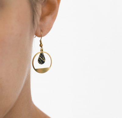 Boucles d'oreilles goutte lilifabrique - Maison Mathuvu