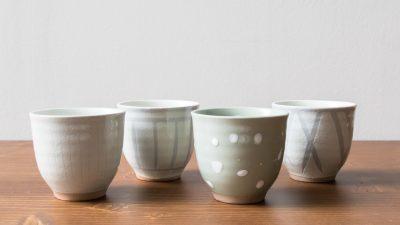 Set 4 Tasses Osawa Pomax - Maison Mathuvu