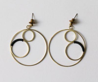 Boucles d'oreilles - Bulle Lilifabrique - Maison Mathuvu
