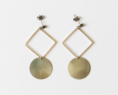 Boucles d'oreilles - Géométrique Maison Mathuvu