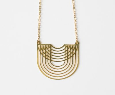 Collier vague Jisalée - Maison Mathuvu