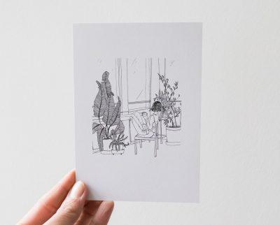 Carte - Jardin Monocotylédone - Maison Mathuvu