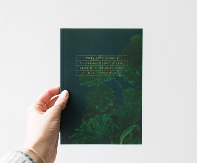 Carnet A5 - Monstera All the ways to say - Maison Mathuvu