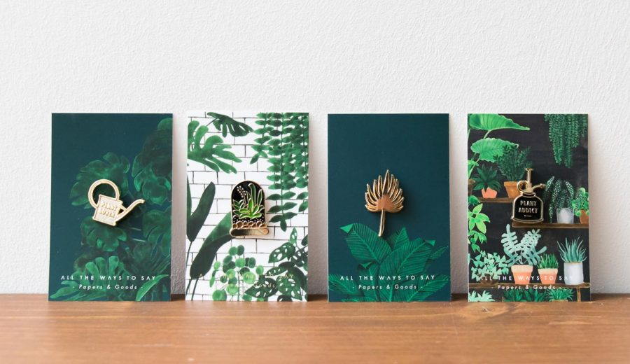 Pin's - Plant lover All the ways to say - Maison Mathuvu