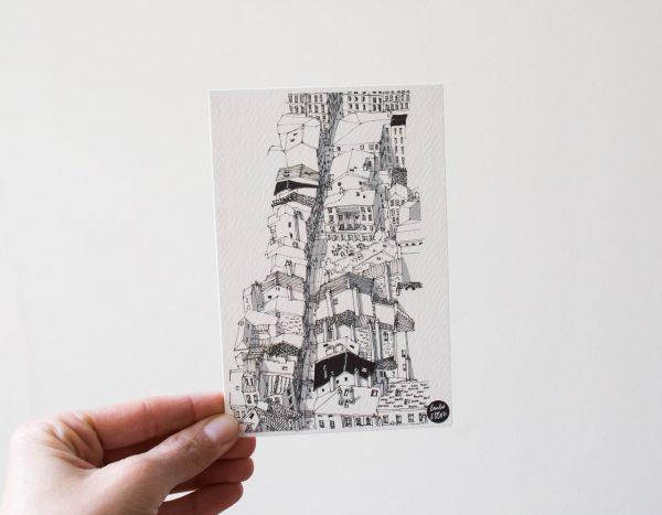 Carte - Montée de la Grande Côte Emilie Ettori - Maison Mathuvu