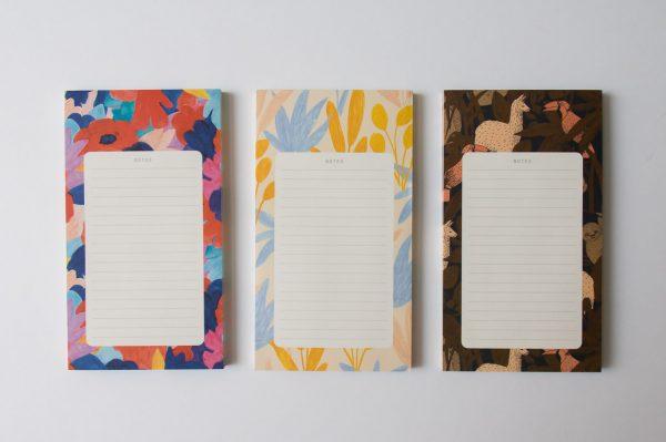 Bloc-notes - Amazonie, Primavera et Pampa Season paper - Maison Mathuvu