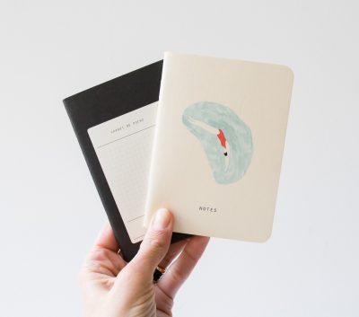 Carnets de poche - Plongeuse Season paper - Maison Mathuvu