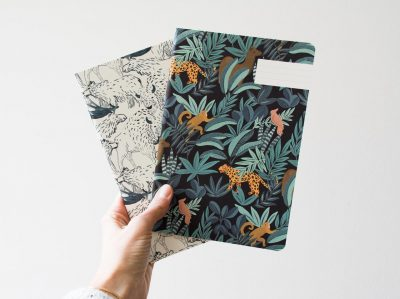 Carnet - Animalia et Wild saeson paper - Maison Mathuvu