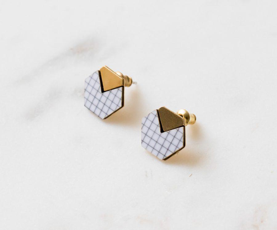 Boucles d'oreilles - Vector Shlomit ofir - Maison Mathuvu