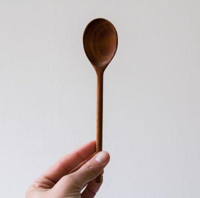 Cuillère en bois d'acacia Nicolas vahé House doctor - Maison Mathuvu
