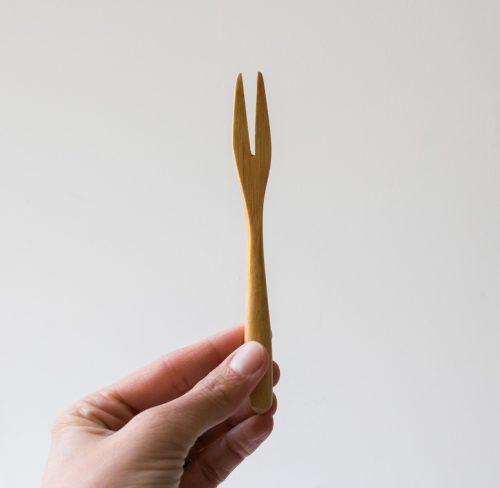 Fourchette en bambou - Grand modèle Nicolas Vahé House doctor - Maison Mathuvu