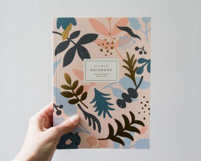 Carnet - Feuille dorée Rifle paper co - Maison mathuvu