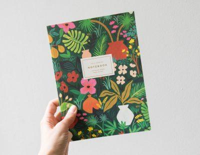 Carnet - Pots et plantes Rifle paper co - Maison Mathuvu