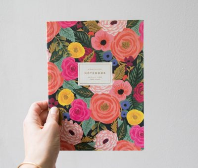 Carnet - Garden Party rifle paper co - Maison Mathuvu