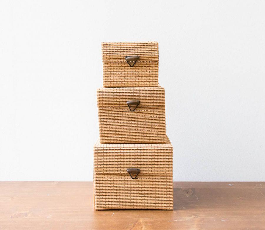 Boîte en bambou lene bjerre - maison mathuvu