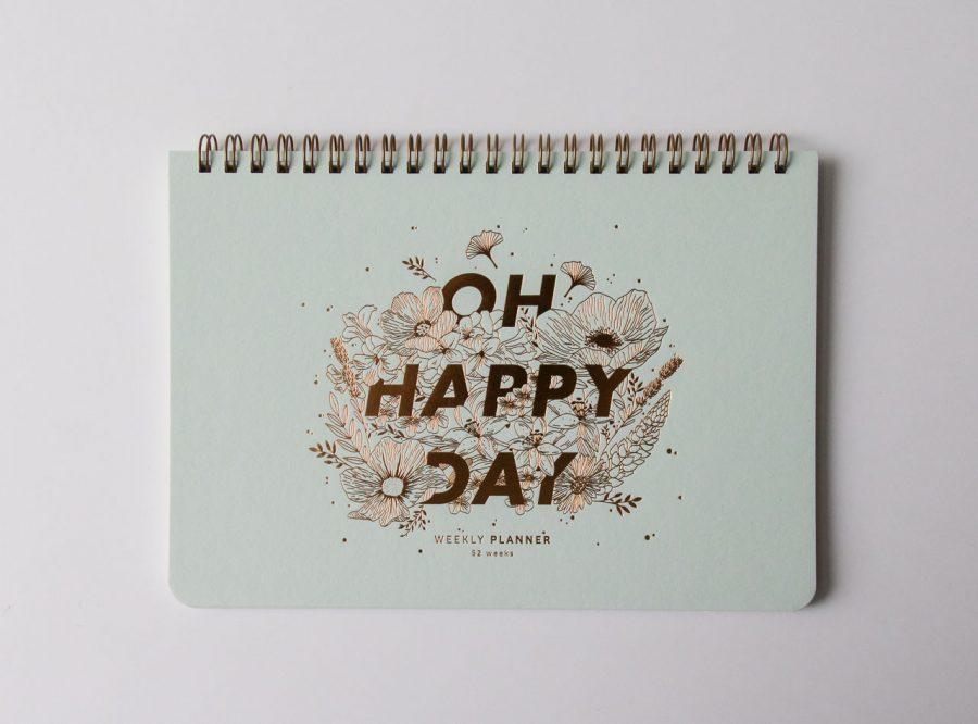 Semainier - Happy day Les éditons du Paon - Maison Mathûvû