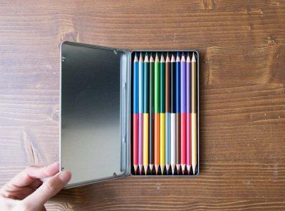 Crayons de couleur - Duo Monograph - maison mathuvu