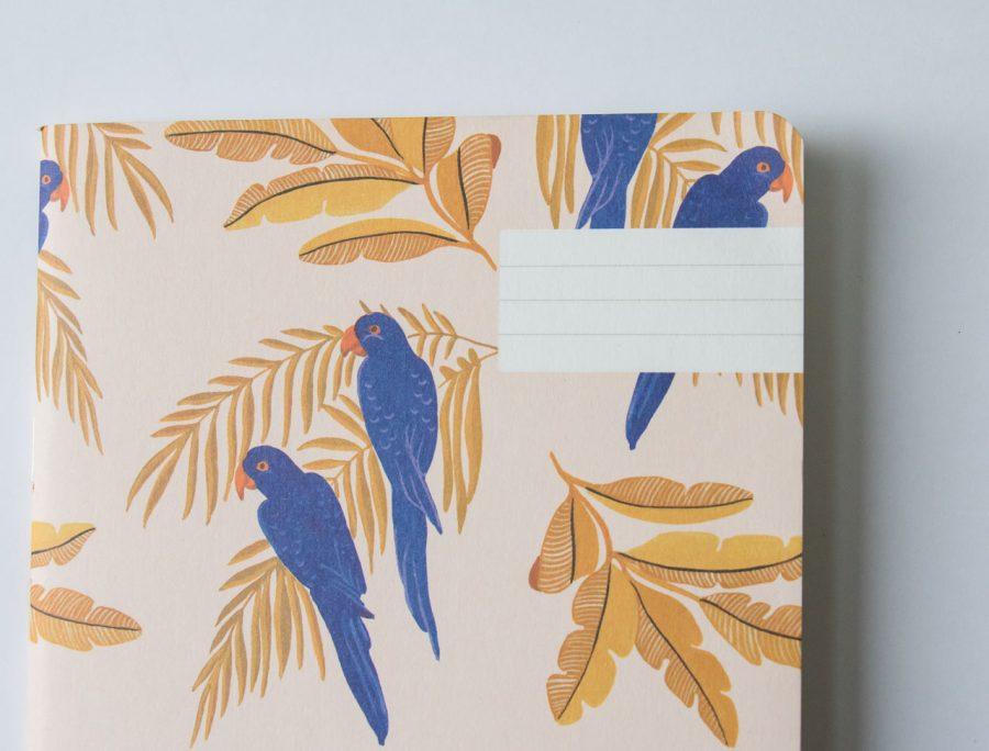 Carnet - Parrots Season paper - Maison mathuvu