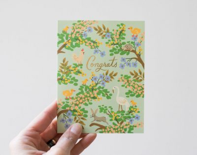 Carte - Félicitations rifle paper co - maison mathuvu