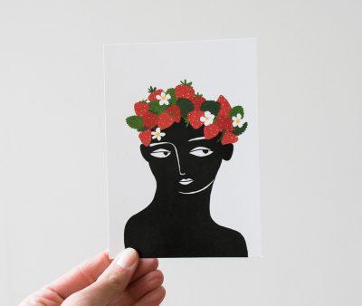 Carte - La Couronnée de fraises Aloyse Mendoza - Maison Mathuvu